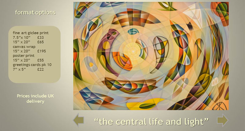 the central life and light